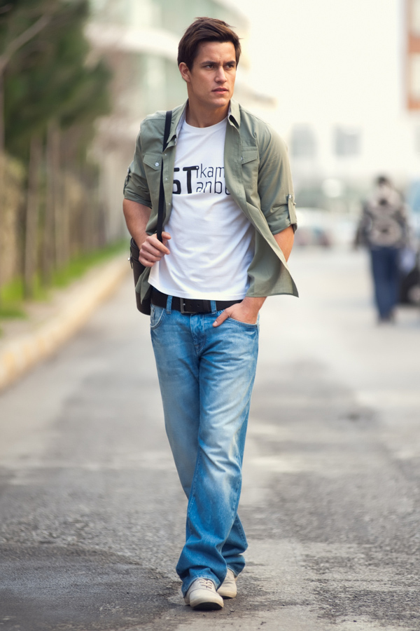 Street Fashion Styling Fotoğraf Çekimi